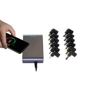 EVOLVEO Chargee C90,  90W napájecí zdroj pro notebooky s beztrátovým nabíjením