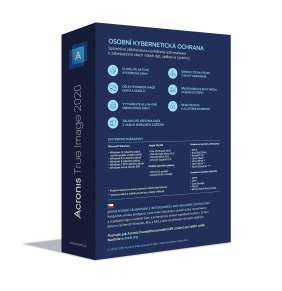 BOX  Acronis True Image 2020 - 1 Computer - Upgrade