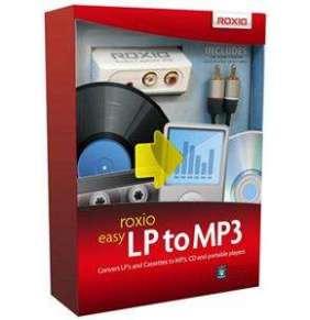 Roxio Easy LP to MP3 BOX - jazyk EN/FR/DE/ES/IT/NL