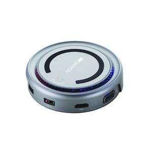 Canyon CNS-TDS07DG Multiport Docking Station, 6 portov, USB-C + USB3.0 + USB2.0 + microUSB + HDMI + VGA + bezdr. nab.