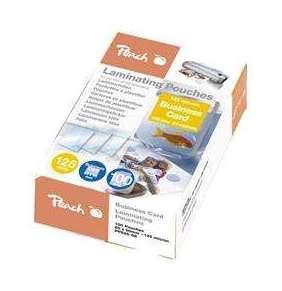 PEACH laminovací folie (60x90mm) Laminating Pouch Business Card , 125mic, 100ks