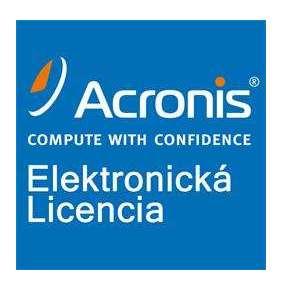Acronis Backup Standard Windows Server Essentials License – Maintenance AAS ESD (2 - 5)