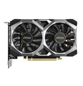 MSI GeForce GTX 1650 SUPER VENTUS XS OC / PCI-E / 4GB GDDR6 / DVI-D / HDMI / DP