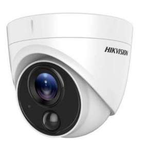 Hikvision DS-2CE71H0T-PIRLO(2.8MM) 2MP Outdoor Turret Lens Fixed