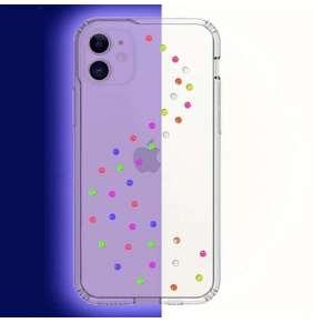 Swarovski kryt Milky Way Clear pre iPhone 11 - Neon Pop