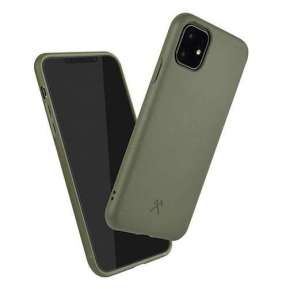 Woodcessories kryt Bio Case pre iPhone 11 - Khaki Green