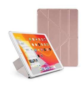 Pipetto puzdro Origami Case pre iPad 10.2 2019 - Rose Gold