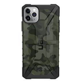 UAG kryt Pathfinder SE Camo Series pre iPhone 11 Pro Max - Forest Camouflage