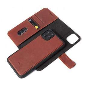 Decoded puzdro Leather Detachable Wallet pre iPhone 11 Pro Max - Brown