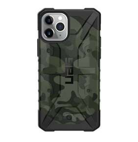 UAG kryt Pathfinder SE Camo Series pre iPhone 11 Pro - Forest Camouflage