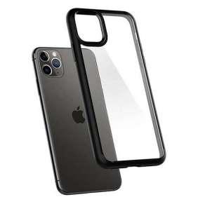 Spigen kryt Ultra Hybrid pre iPhone 11 Pro - Matte Black