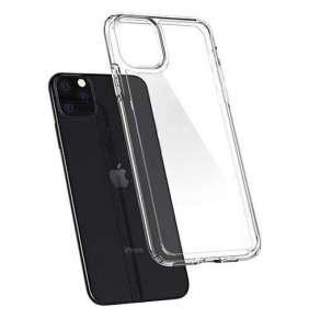 Spigen kryt Crystal Hybrid pre iPhone 11 Pro - Crystal Clear