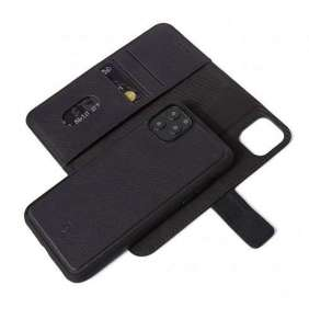 Decoded puzdro Leather Detachable Wallet pre iPhone 11 Pro - Black