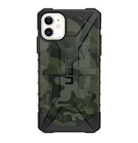 UAG kryt Pathfinder SE Camo Series pre iPhone 11 - Forest Camouflage