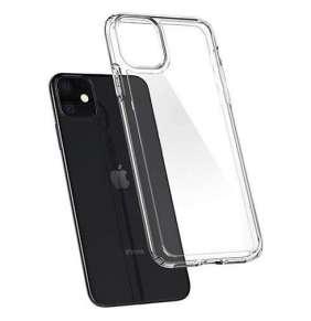 Spigen kryt Ultra Hybrid pre iPhone 11 - Crystal Clear