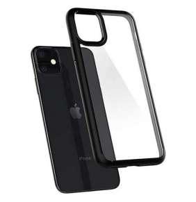 Spigen kryt Ultra Hybrid pre iPhone 11 - Matte Black