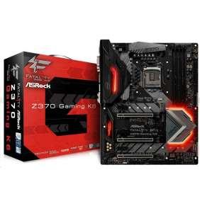 ASRock MB Sc LGA1151 Z370 GAMING K6, Intel Z370, 4xDDR4