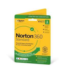 SYMANTEC NORTON 360 STANDARD 10GB + VPN 1