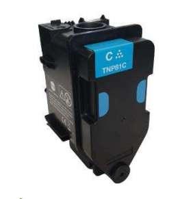 Minolta Toner TNP-81C, azurový do bizhub C3300i, C4000i (9k)