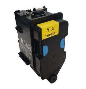 Minolta Toner TNP-81Y, žlutý do bizhub C3300i, C4000i (9k)