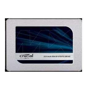 """Crucial MX500  1TB SSD, 2.5"""" 7mm SATA 6Gb/s, Read/Write: 560 MBs/510MBs"""