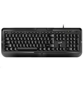 Genius KB-118 Klávesnice, drátová, USB, CZ+SK layout, černá