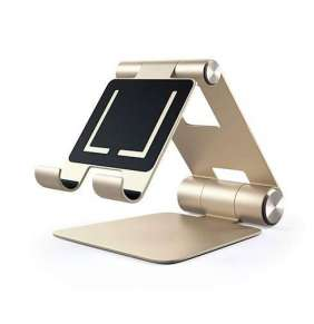 Satechi stojan R1 Hinge Holder Foldable Stand - Gold Aluminium