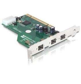 Delock PCI Card   FireWire B 3 Port (IEEE 1394b) with jackscrew