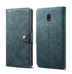 Lenuo Leather pro Xiaomi Redmi 8A, modrá