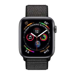 Fujitsu 4 GPS, 44mm Space Grey Aluminium Case with Black Sport Loop