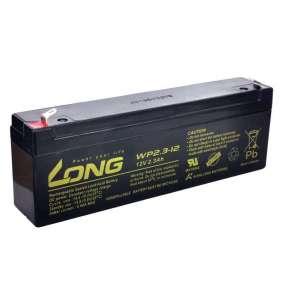 Long 12V 2,3Ah olověný akumulátor F1 (WPS2,3-12)