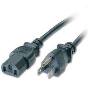 PREMIUMCORD Kabel síťový k počítači 2m s USA zástrčkou