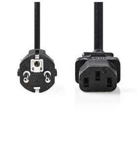 Nedis CEGP10030BK20 - Napájecí Kabel | Schuko Zástrčka - IEC-320-C13 | 2 m | Černá barva