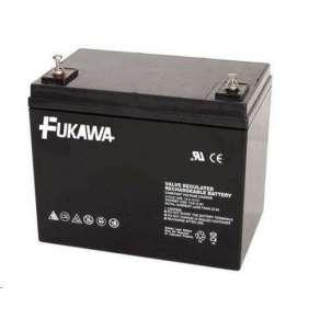 akumulátor FUKAWA FWL 75-12 (12V  75Ah  závit M6  životnost 10let)