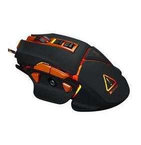 Canyon CND-SGM6N Hazard, herná myš, drôtová, optická, 800/1600/2400/4800/6400 dpi, 9 program. tlač, LED podsv., čierna