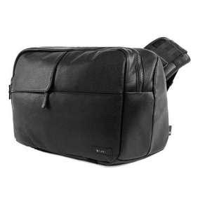 InCase taška Ari Marcopoulos Camera Bag - Black Leather