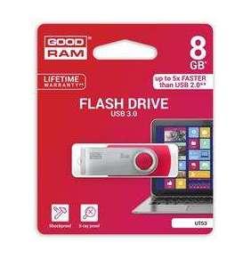 GOODRAM Flash Disk UTS3 8GB USB 3.0 červená