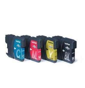 LC-1100 sada inkoustů - black, magenta, yellow, cyan