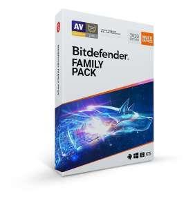 Bitdefender Family pack pro domácnost (15 zařízení) na 2 roky