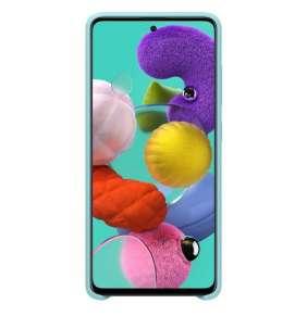Samsung Silikonový kryt pro Galaxy A51 Blue