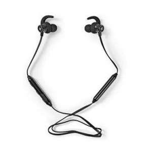 Nedis HPBT8000BK - Sportovní sluchátka | Bluetooth | Do Ucha | Flexibilní Kabel | Černá