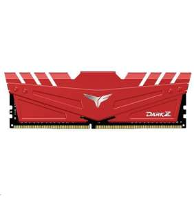 DIMM DDR4 32GB 3200MHz, CL16, (KIT 2x16GB), T-FORCE DARK Z, Red
