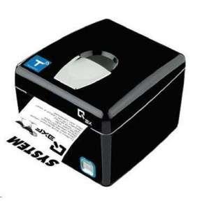 Custom pokladní tiskárna QX3, řezačka, LAN, černá, zdroj