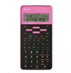 SHARP kalkulačka - EL531THBPK - růžová - blister - otvorené
