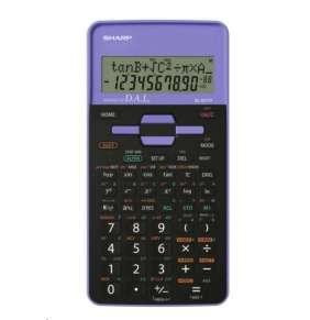 SHARP kalkulačka - EL531THBVL - fialová - blister - otvorené