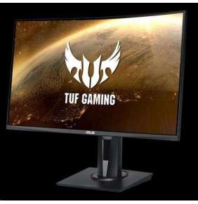 "ASUS LCD 27"" VG27VQ 1920x1080 TUF Gaming Curved Gaming VA 165Hz 1ms MPRT DP HDMI DVI FreeSync REPRO"
