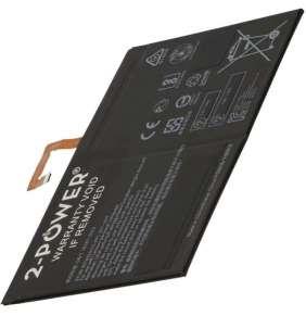 2-POWER Baterie 3,8V 7000mAh pro Lenovo Tab 2 A10-70L, Lenovo A10-30-2, Lenovo TAB-10