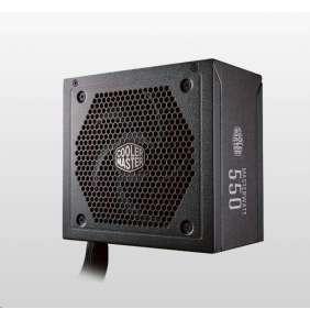 Cooler Master zdroj MasterWatt 550, Semi-Modular 550W A/EU Cable, Semi-pasive, 80 Bronze
