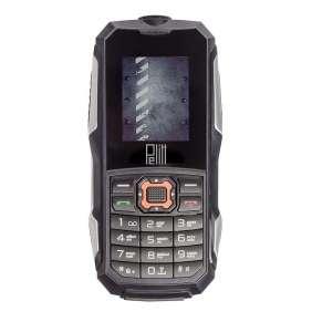Pelitt Pebble, odolný IP68, DUAL SIM, černá