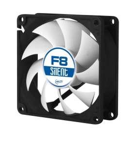 ARCTIC F8 Silent ventilátor 80mm / tichý